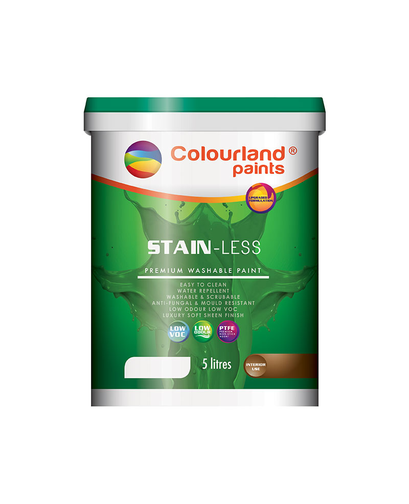 Colourland Paints Malaysia - Eco Technology Care - Stain-Less